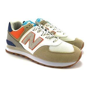 New Balance Mens 574 V2 Lifestyle Sneakers 2E